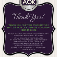 Thanks…YOUR AOK